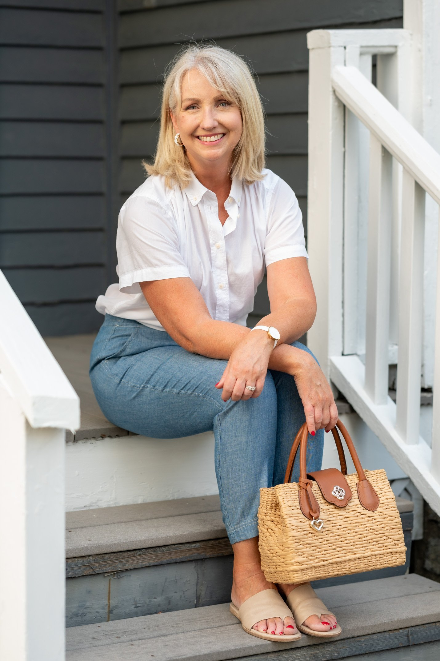 Easy Summer Outfit for Women Over 50