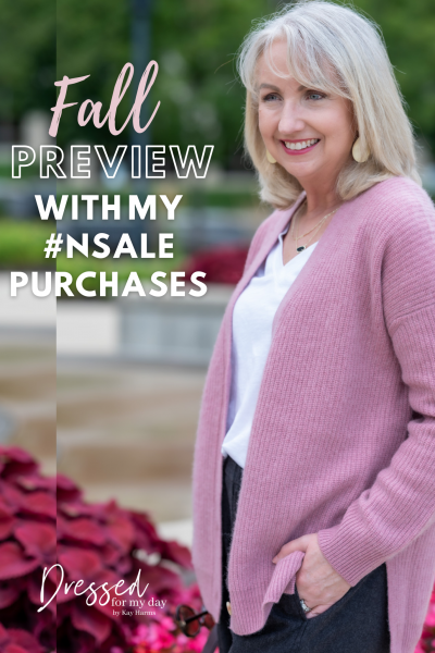 Fall Preview with My NSale Purchases