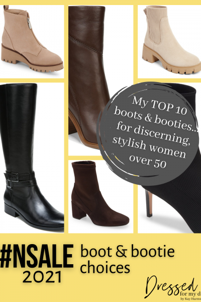 My #NSale 2021 Boot & Bootie Choices