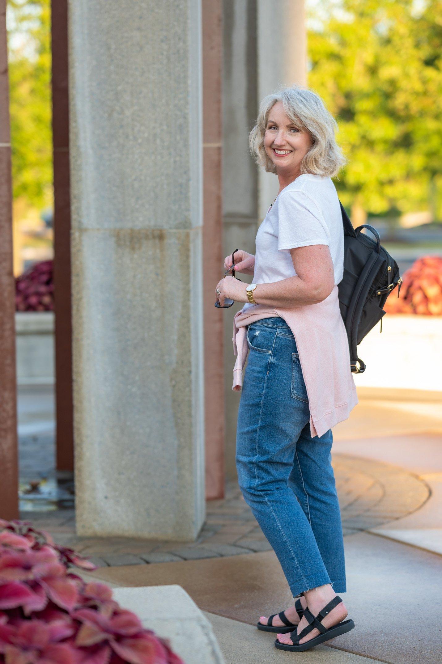 Sweatshirt with Jeans