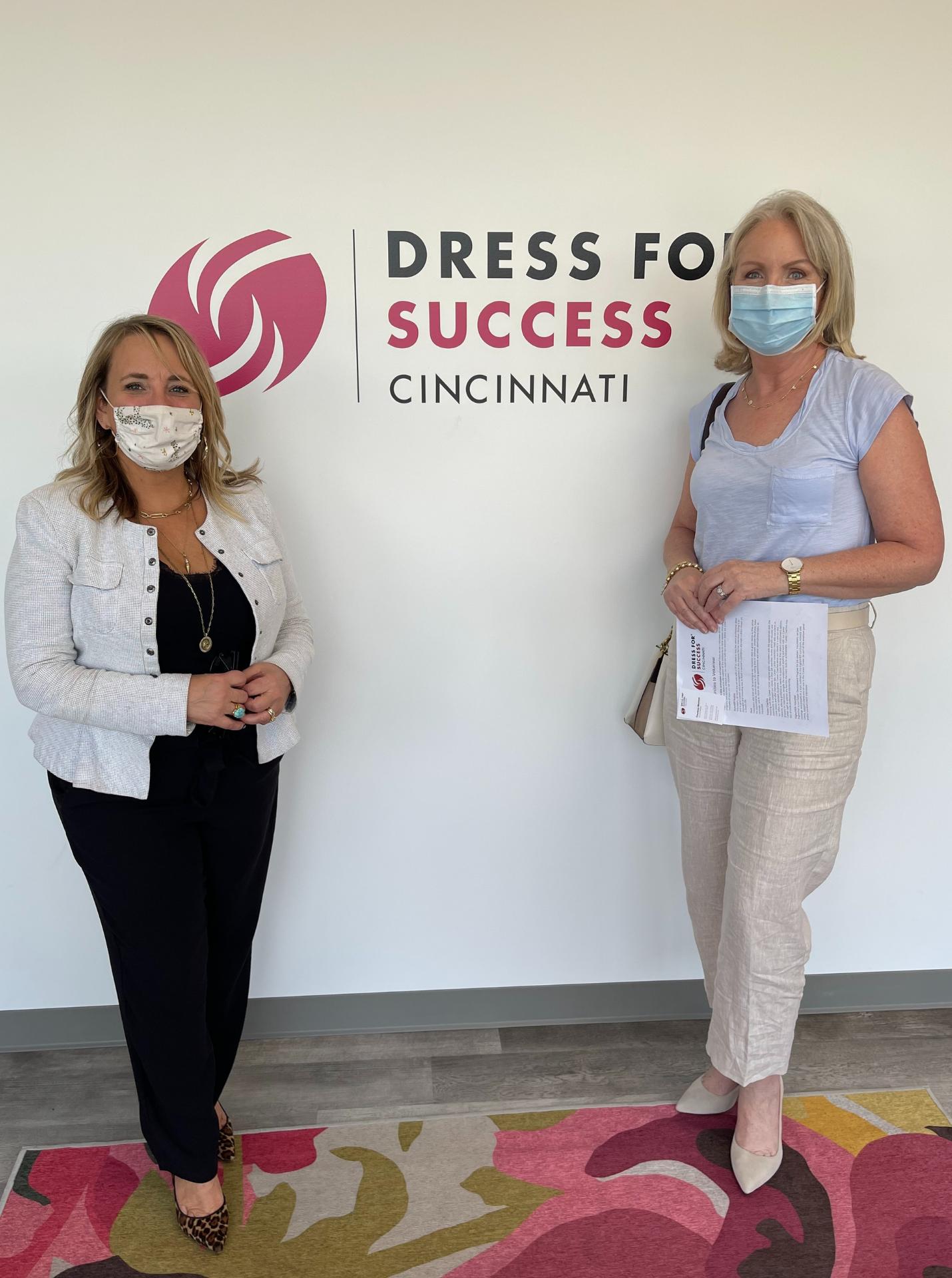 Visiting Dress for Success Cincinnati
