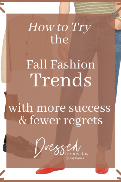 How to Try the Fall Fashion Trends