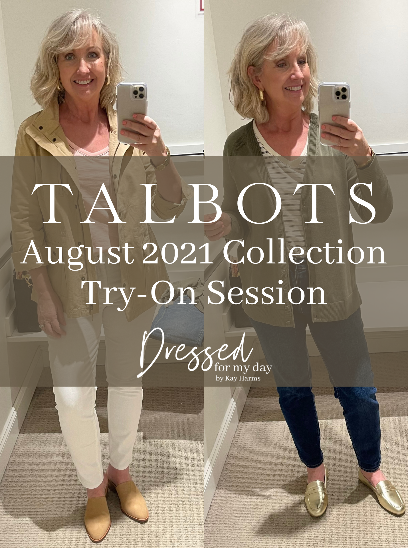 Talbots August 2021 Collection Try-On Session