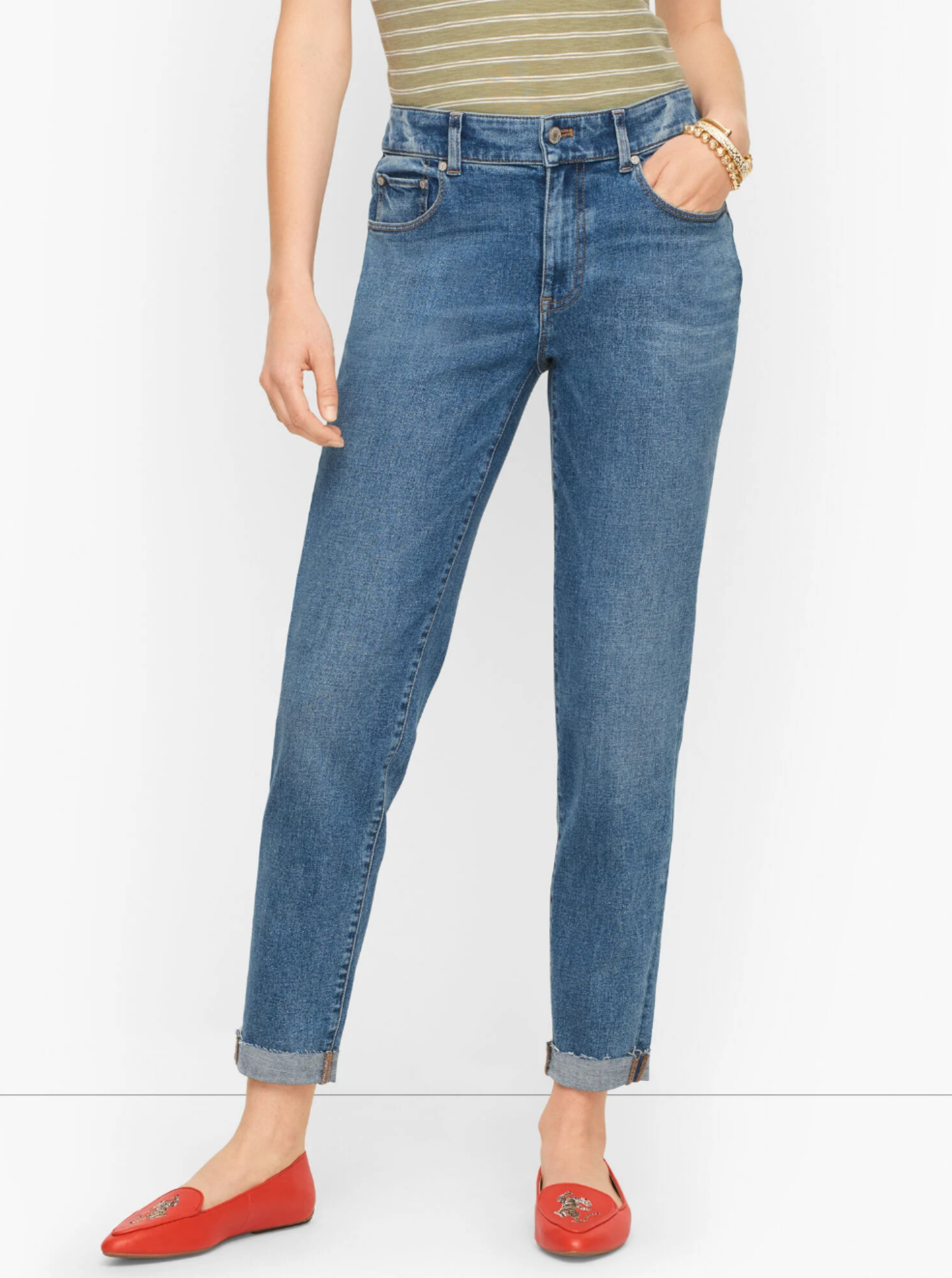 Talbots Relaxed Everyday Jeans August 2021 Favorites
