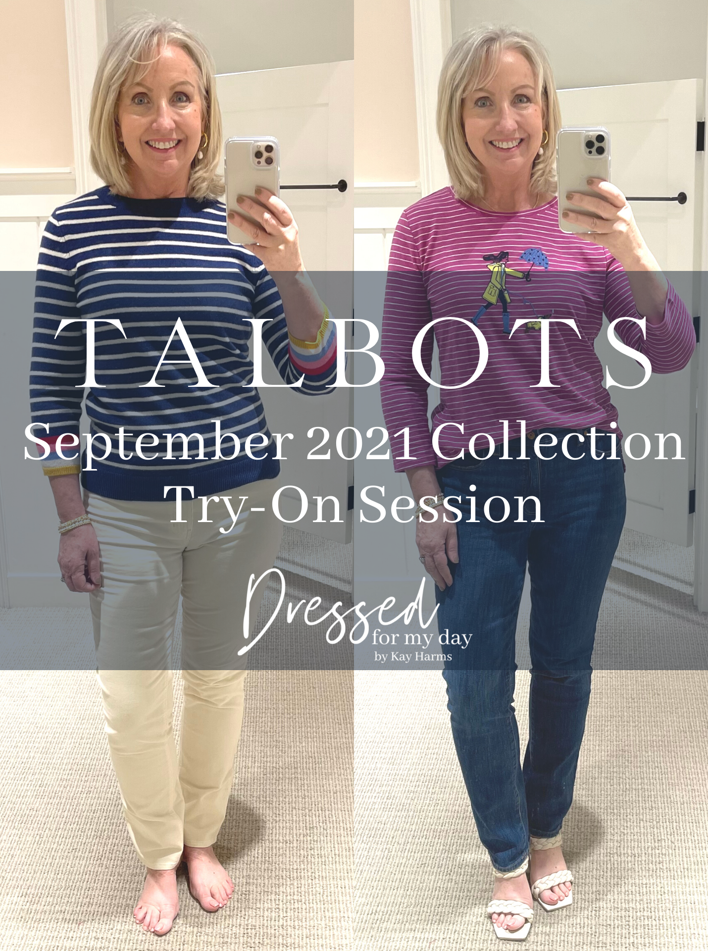 Talbots September 2021 Collection Try-On Session