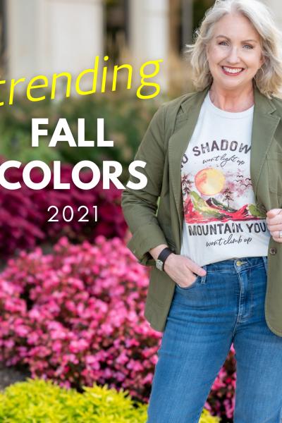 Trending Fall Colors 2021