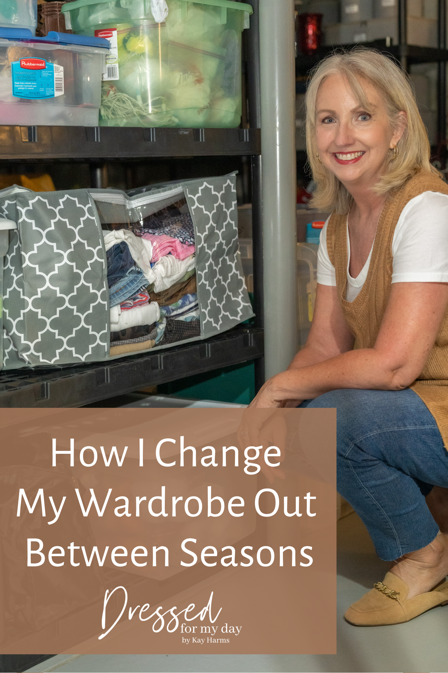 How I Change My Wardrobe Out Between Seasons