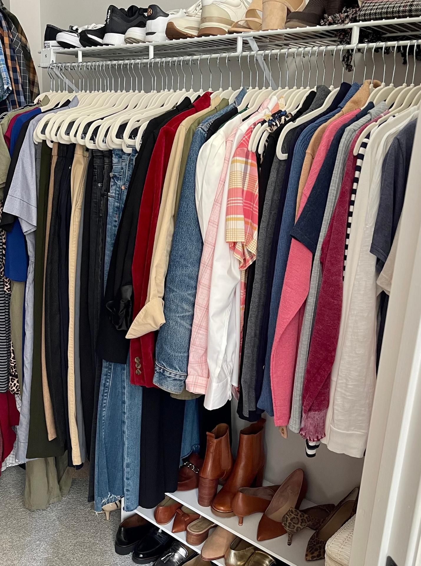 How I've Organized My Fall Wardrobe 1