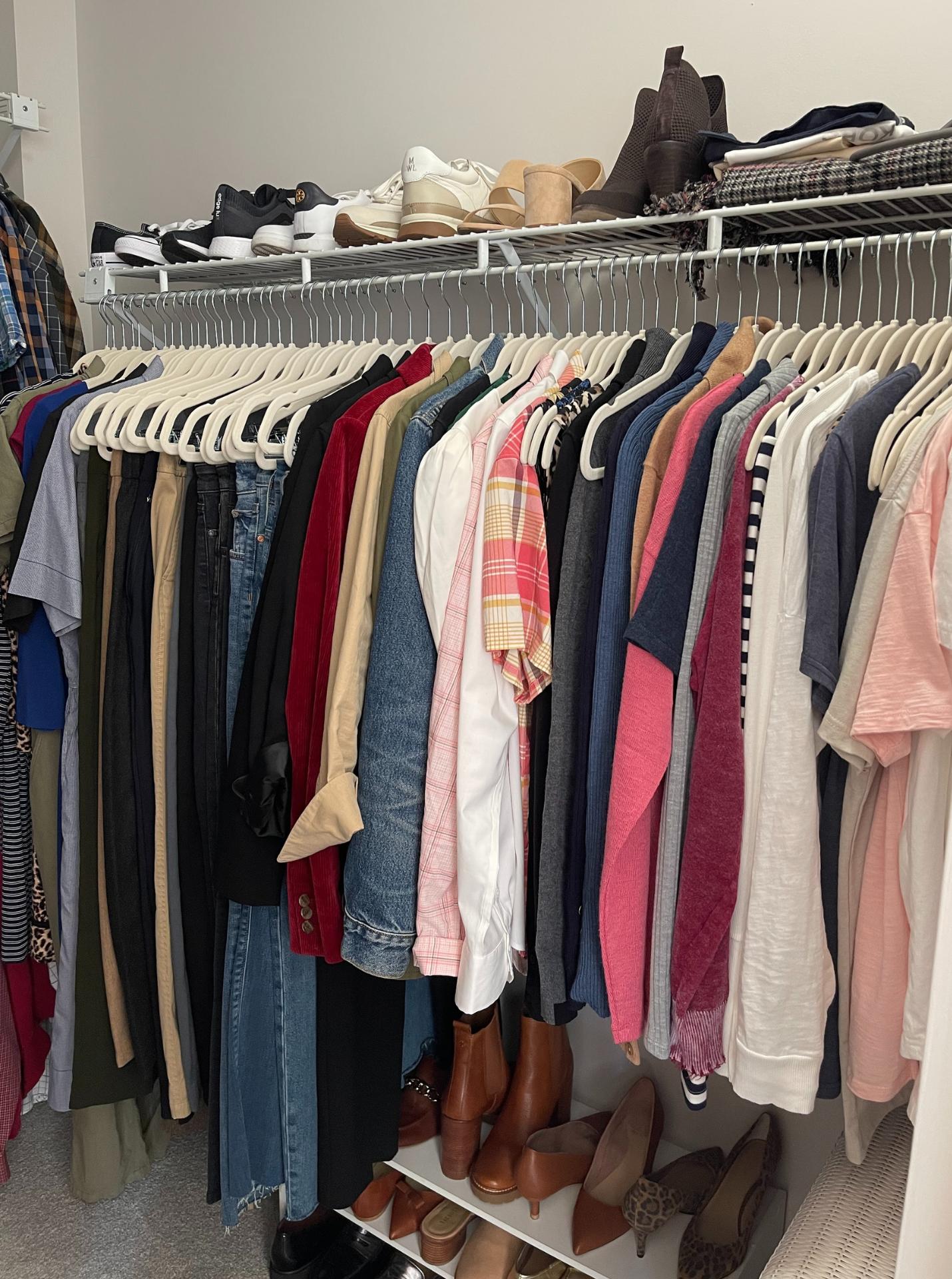 How I've Organized My Fall Wardrobe 2