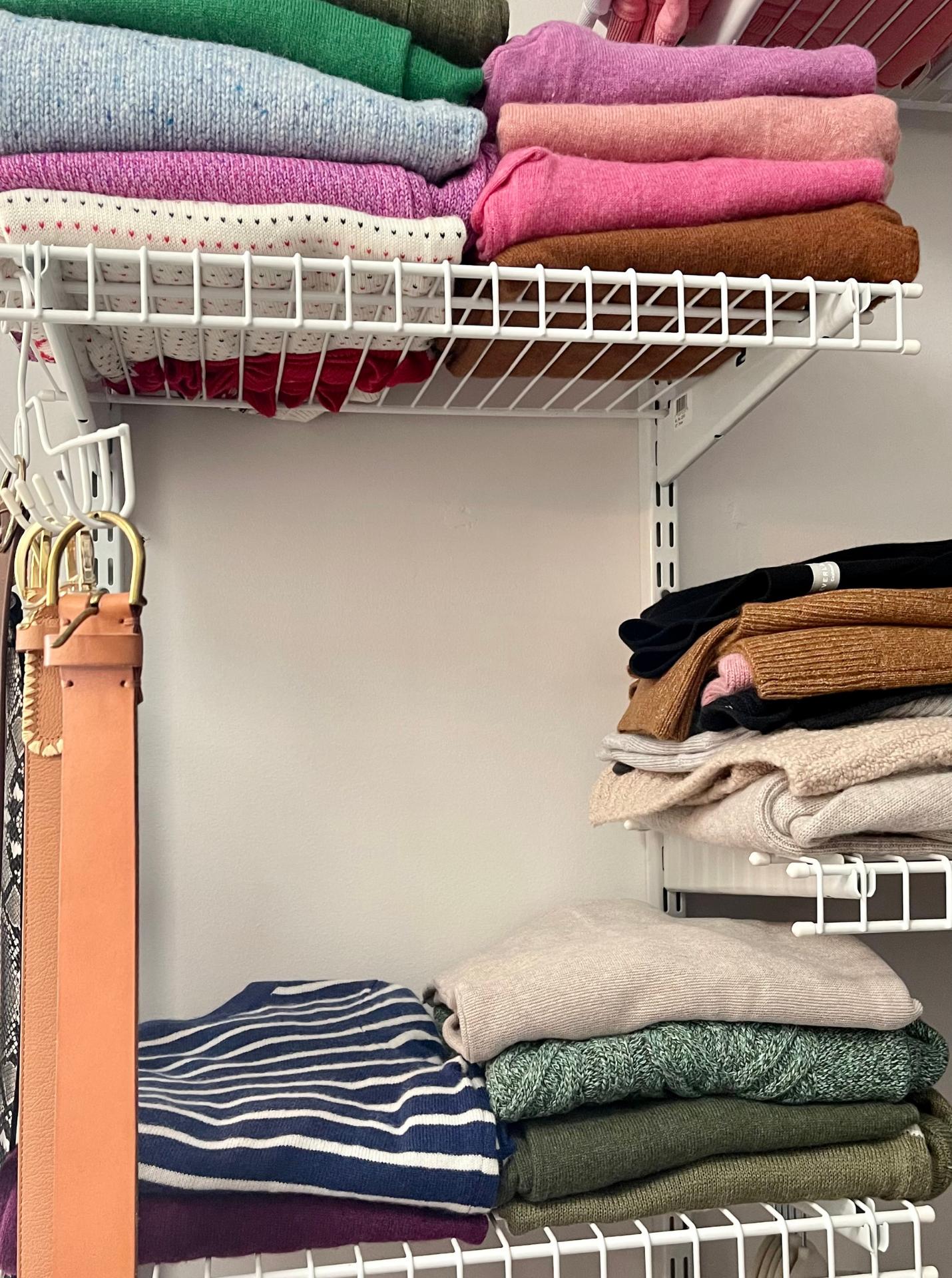 How I've Organized My Fall Wardrobe 5