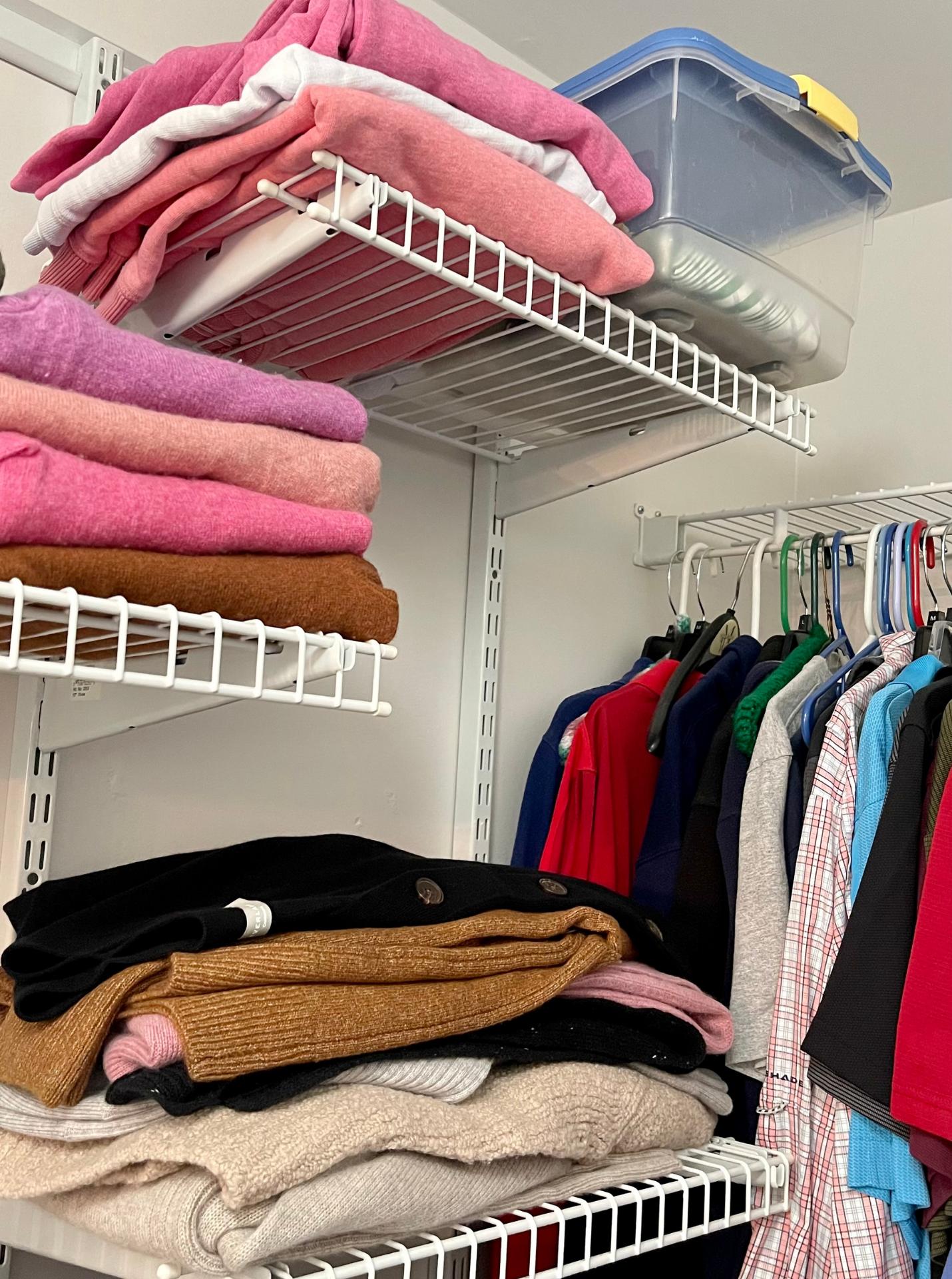 How I've Organized My Fall Wardrobe 7
