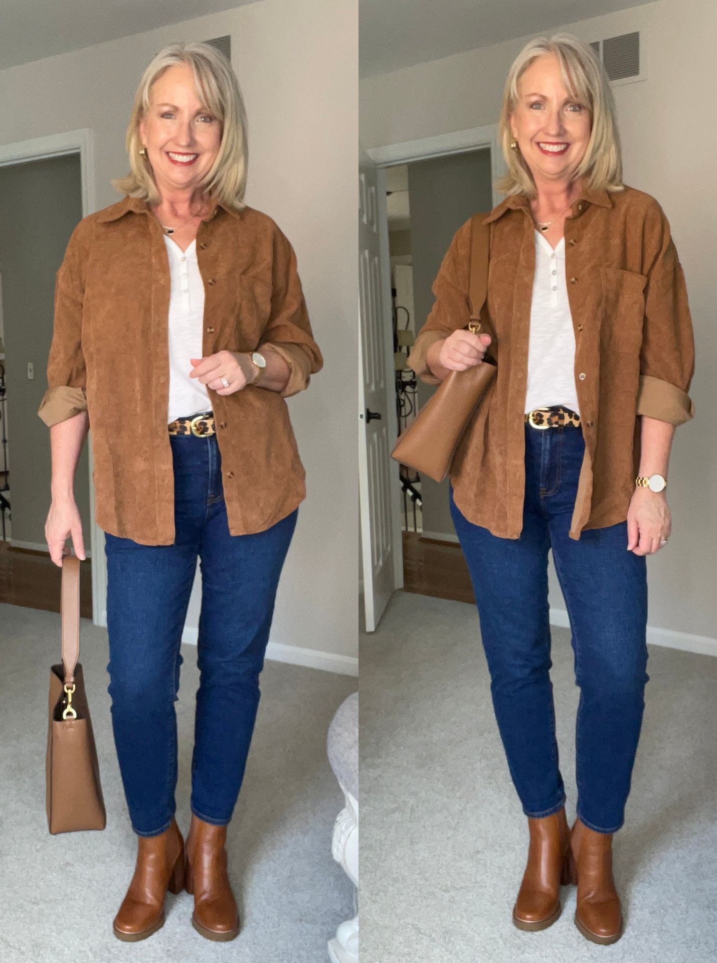 Wear a Shirt Jacket with Jeans and a T-Shirt