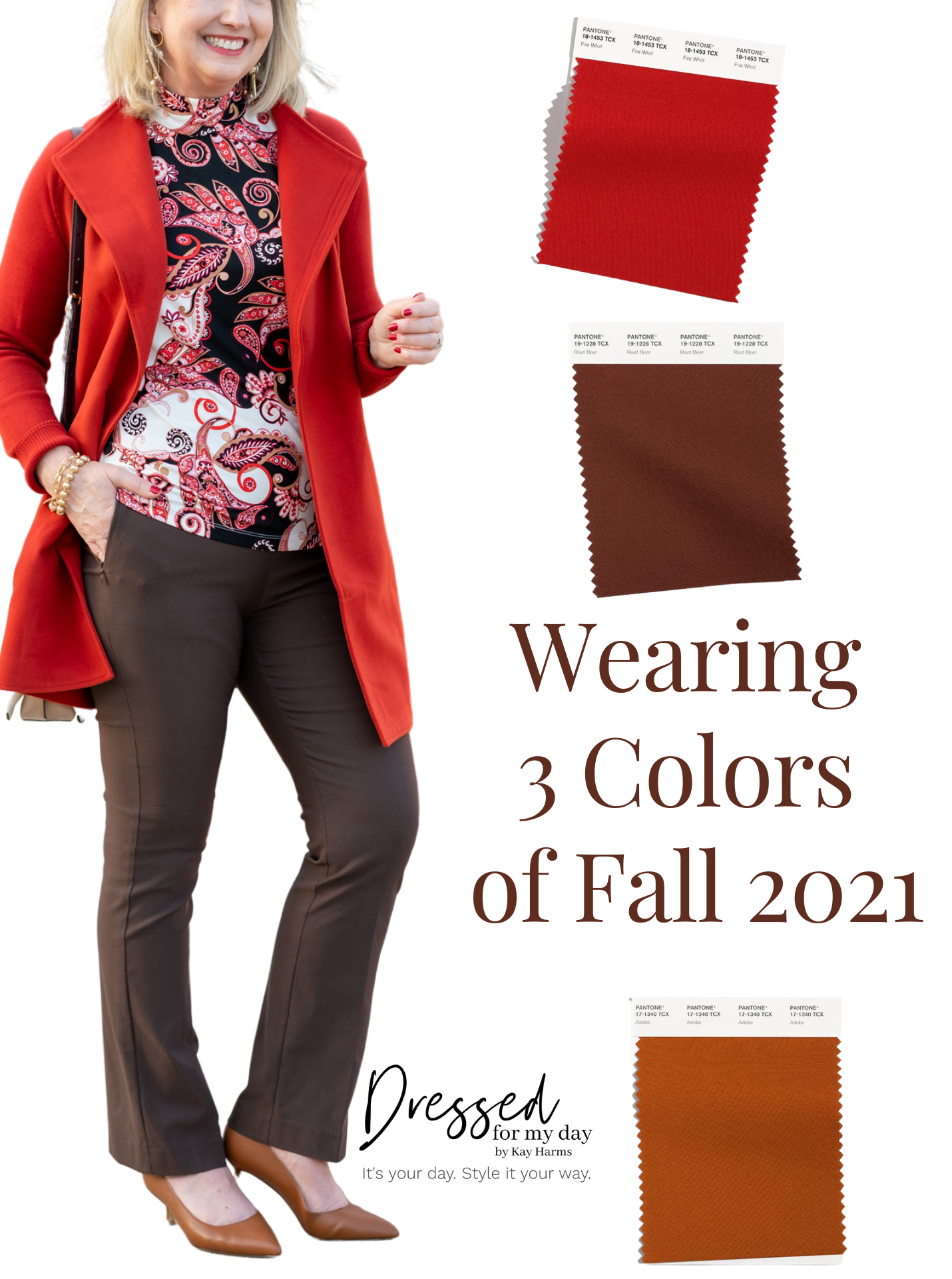 Wearing 3 Colors of Fall 2021